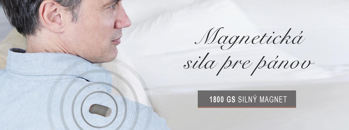 Magnetická platnička obsahuje dva silné magnety o sile 1800 Gaussov.