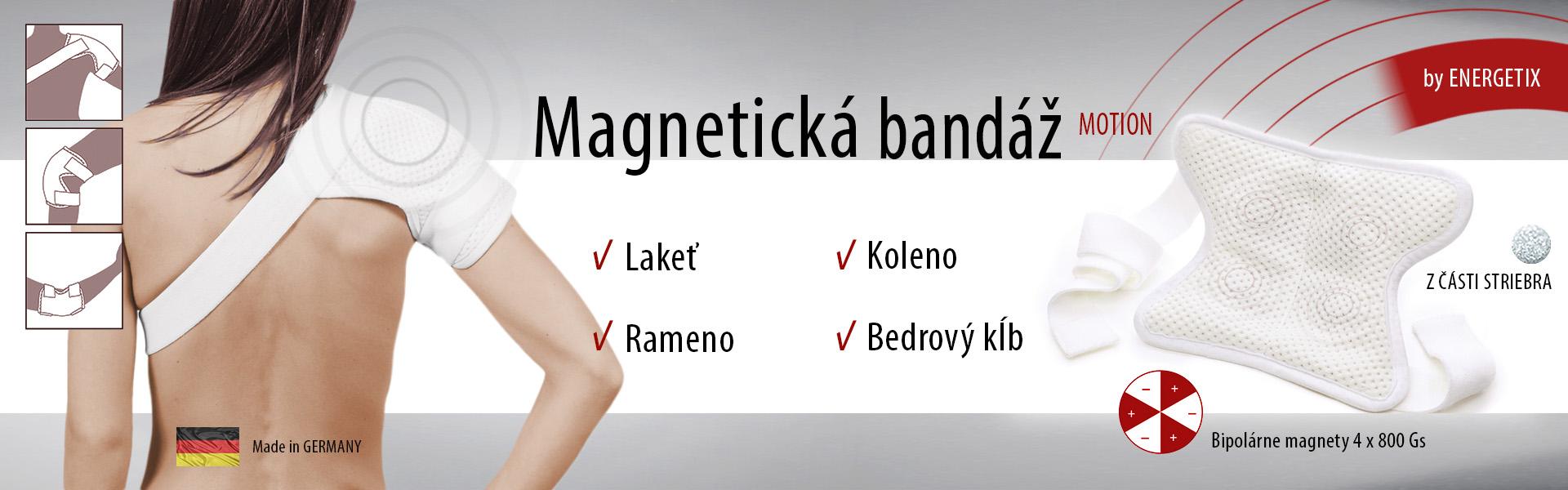 Magnetická bandáž Motion