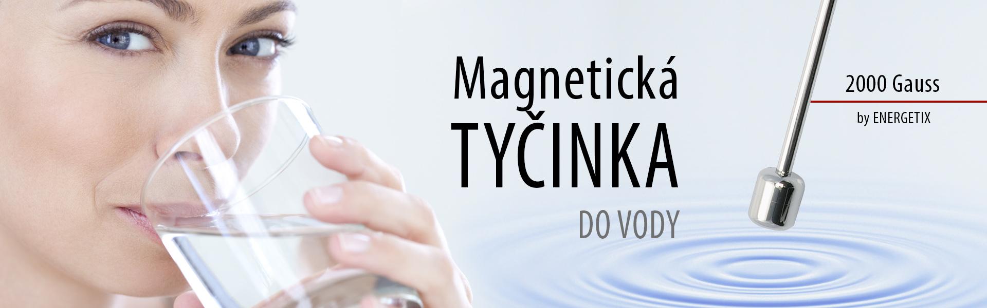 Magnetická tyčinka obsahuje magnet z neodymia, ktorý je najsilnejší permanentný magnet